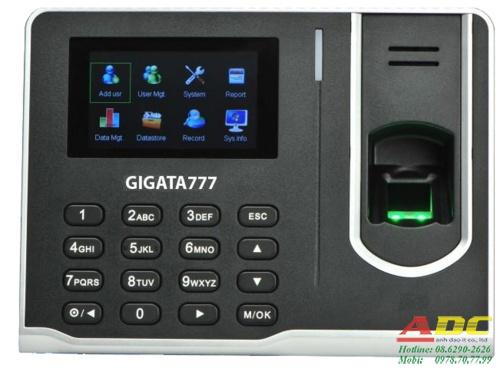 Máy chấm công vân tay GIGATA 777